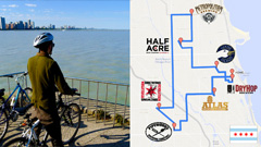 Cycling Chicago for a Brewing Internship
